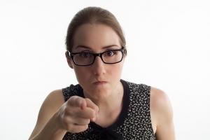 Blog - Angry woman