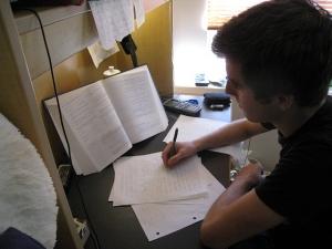 Blog - exam student